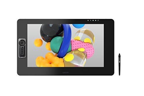 """Wacom Cintiq Pro 24 Touch Display Interattivo con Penna Wacom Pen Pro 2, Tavoletta Grafica con Schermo LCD 24"""" per Disegno Digitale, fino a 4K UHD, Compatibile con Windows & OS X, Nero"""