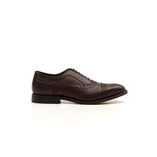 Allen Edmonds - Brown Strand Cap-Toe Oxford Shoes - STRAND6105-9 (Herren-schuhe-kleid-2e)