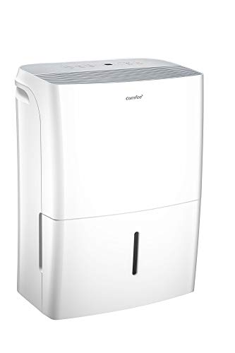 Comfee Luftentfeuchter APP-fähig 20L in 24h, Raumgröße ca. 100m³ (-40 m²), 170ca. m³/h Luftleistung, weiß, MDDF-20DEN7-WF