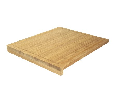 Ambiance Nature 508815 - Tabla de corte de cocina en bambú