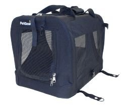 PetGear by Happy Pet Canvas Carrier, Medium, Black by Happy Pet Products Ltd