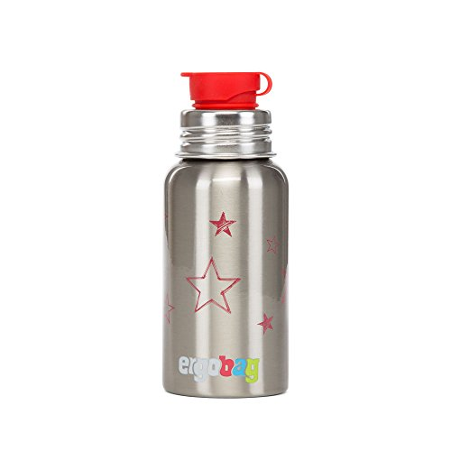 Preisvergleich Produktbild Ergobag Zubehör und Accessoires PURA Edelstahl-Trinkflasche Sterne 710 sterne