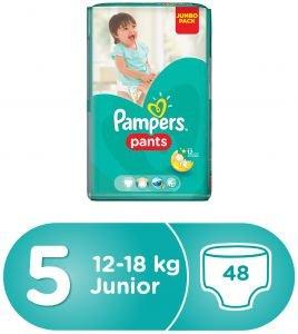 Pampers - Die Schlicker ActivePants 5 Junior Jumbo-Pack 48 PC