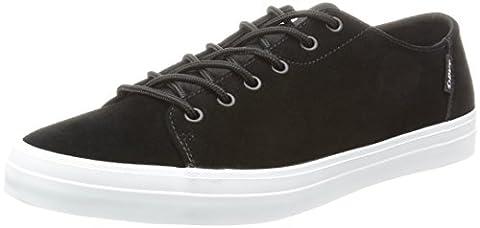 DVS SHOES Edmon, Chaussures de Skateboard Homme, Noir-Schwarz (Black White