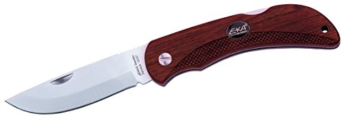 EKA Taschenmesser Swede 10 Bubingaholz Messer, Braun, One Size -