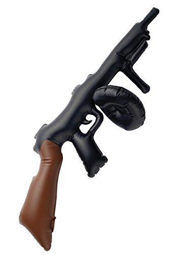 Aufblasbare (Gangster Aufblasbare Maschinenpistole)