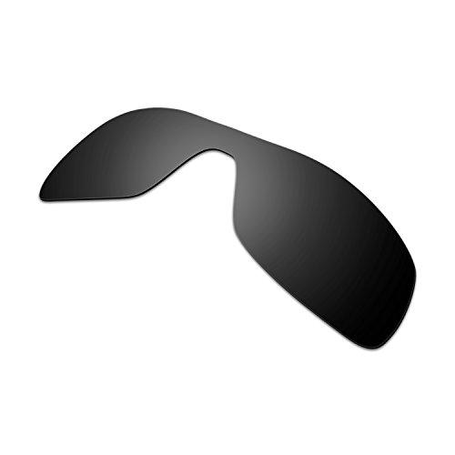 9ec60966da Hkuco Plus Mens Replacement Lenses For Oakley Antix Sunglasses Black  Polarized