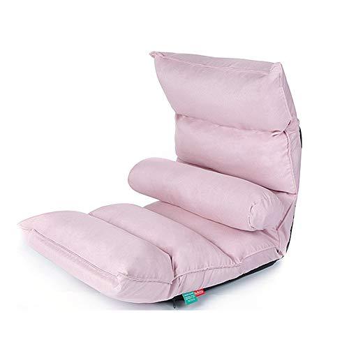 SXFYZCY Bodenstuhl tragbare Faltbare Chaiselongue Einzelstuhl Möbel Wohnzimmer Schlafzimmer verstellbares Bett Lazy Tatami Mat,A,1260x510x160mm (Chaiselongue Bequem Gepolsterten)