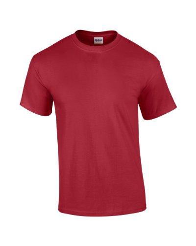 GILDAN -T-shirt  Uomo-Donna - Kardinal rot