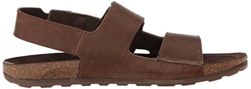 Merrell Herren Downtown Backstrap Buckle Sandalen Braun (Dark Earth)