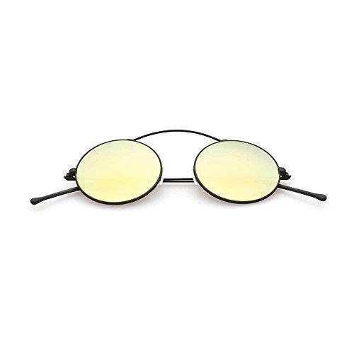 Spektre met-ro occhiali da sole uomo donna alta protezione specchio oro