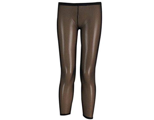 BONAMART  Damen Sexy Hipster Transparent Lycra Leggings Leggins Hose Lang
