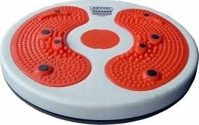 First 4 Tummy Trimmer Acupressure Twister (Pyramids N Magnets) Useful For Figure Tone-Up, Spine Fitness, Abs Trimming  available at amazon for Rs.299