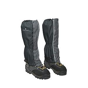 Ferrino 77310HCC.1SIZ Zermatt Gaiters Black (Set), Erwachsene, Unisex, Schwarz, Einheitsgröße