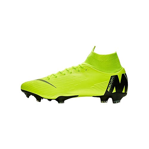 Nike Herren Mercurial Vapor XII Pro FG Fußballschuhe Schwarz Anthracite-Black-Lt Crim 001, 43 EU -