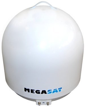 Megasat 1500059, Campingman portable, Vollautomatische Twin Antenne mit AutoSkew Portable Sat-antenne