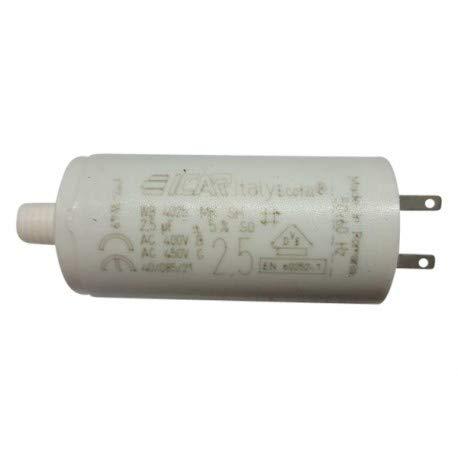 Lot de 3 condensateurs 2.5 µF pour volet roulant SOMFY cosses 28mm
