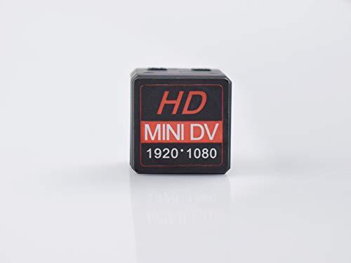 Mini telecamera spia, 1080p full hd microcamera nascosta di sorveglianza con visione notturna/rilevamento del movimento videocamera di sorveglianza interno/esterno