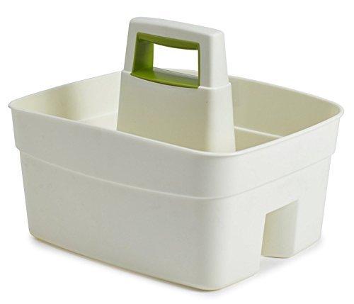 whitefurze-kitchen-caddy-with-leaf-green-insert-plastic-cream