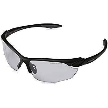 Alpina Twist Four Small QL Sport-Sonnenbrille Black Matt UDTaK