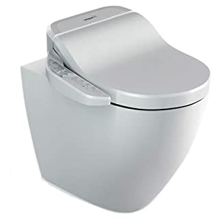 Aqua-Sigma ST GFR-7235: Rimless Wash and Dry Shower Toilet