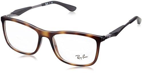 Ray-Ban Herren Brillengestell 0RX 7029 5200 55, Braun (Havana)