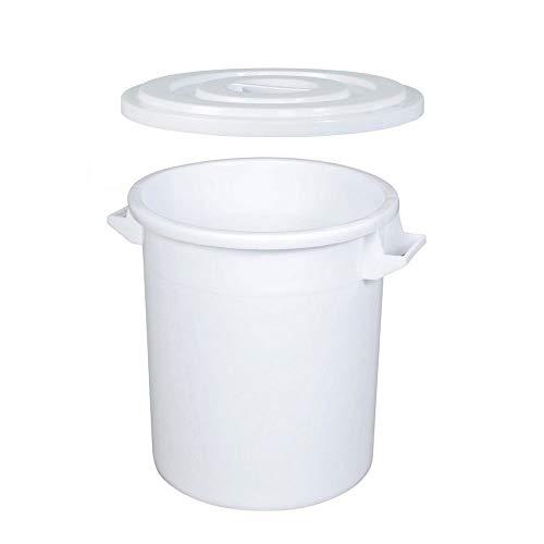 50 Liter Futtertonne/Vorratstonne für Trockenfutter, mit Deckel, lebensmittelecht