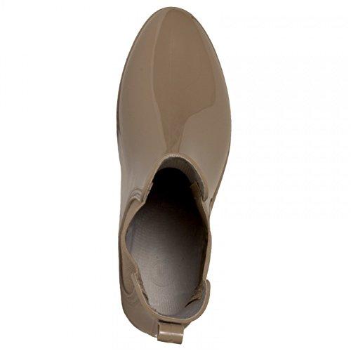 CASPAR Taschen & Accessoires, Stivali donna Beige (Beige)