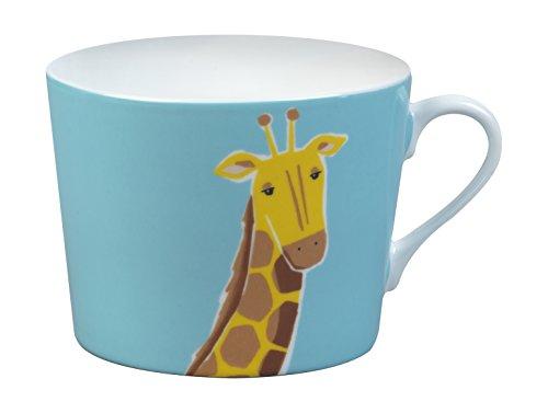 Cambridge cm04673 Newport Tasse en porcelaine fine multicolore Girafe