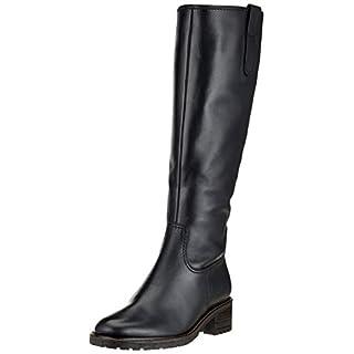Gabor Shoes Damen Comfort Basic Hohe Stiefel Schwarz (Mel.) 57, 39 EU