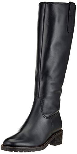 Gabor Shoes Damen Comfort Basic Hohe Stiefel, Schwarz (Mel.) 57, 43 EU