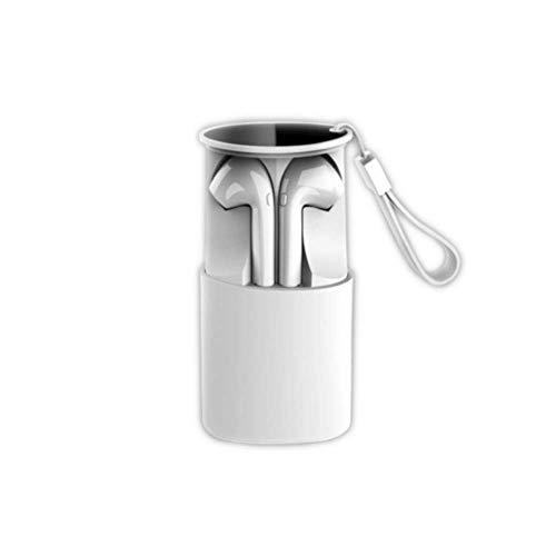 DOJA Barcelona | Auriculares Inalambricos Bluetooth 5.0 | i9s Blanco | Cascos de máxima Potencia y Calidad de Sonido | BATERIA 3H | Carga portatil | Compatible con Todos LOS Dispositivos