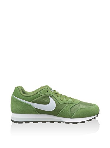 Nike Donna Wmns Md Runner 2 scarpe sportive Verde (Verde (Treeline / Pr Pltnm-Rcr Bl-White))