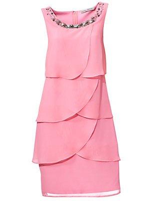 Ashley Brooke Damen Designer-Cocktailkleid, rosé, Größe:44