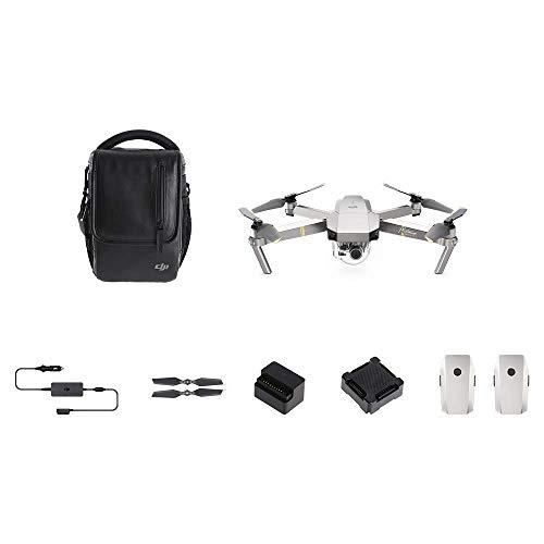DJI Mavic Pro Platinum Combo Drohne mit 4K Full-HD Videokamera inkl. Fernsteuerung I 12 Megapixel Bilderqualität und bis zu 7 km Reichweite, Platinum (EU Version) - Filter Combo Pack