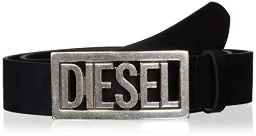 Diesel B-OGO, Cintura Uomo, Nero (Black T8013-Pr227), 3 (Taglia Produttore: 90)