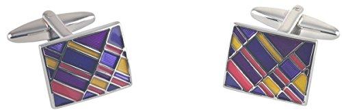 argento-multi-color-rettangolo-smalto-epossidico-gemelli-di-david-van-hagen
