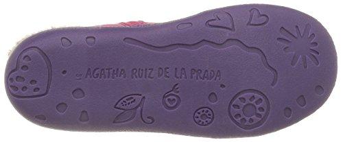 Agatha Ruiz de la Prada Map World, Bottes Souples fille Rose (B Fucsia/Sauvage)
