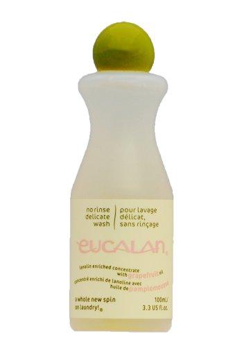 Pflegende Handwäsche (Eucalan 666884100474 pflegendes Feinwaschmittel, Grapefruit, 100 ml für Handwäsche)