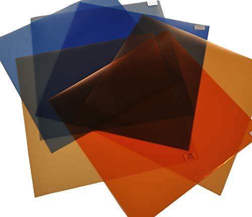 Filterset Farbkorrektur für Tageslicht und Kunstlicht 24 cm x 24 cm