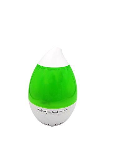 Humidificador de aroma, difusor multifuncional Aroma humidificador Bluetooth reproductor de música esencial luz de aceite con función de sincronización de llamada libre de mano (VERDE)