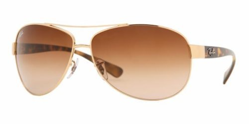 Ray Ban RB3386 Sunglasses-001/13 Gold Gold (Brown Gradient Lens)-67mm Sport, Fitness, Training, Health, Exercise Gear, Shape UP by SPORT4U