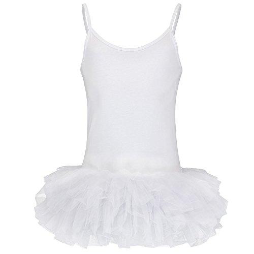 Partybob Männerballett Kostüm - Herren Ballerina Kleid (Weiß, Größe ()