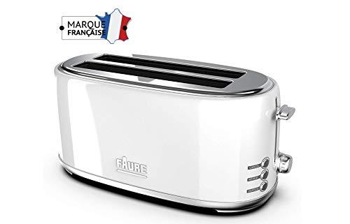 Faure FT2L-1621 Grille Pain, Blanc