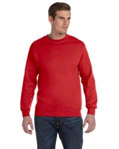 Kostüm Herren Halloween Sport - Gildan Heavy Blend Pullover mit Rundausschnitt (L) (Rot) L,Rot