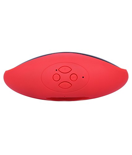 Soundbuddy Elegent Speaker with feature of Feet Taping Music sound ||Super Sound ||Deep Bass ||Innovative Design ||Newest Design ||new edge technology ||Rechargeable Battery Rugby Style Bluetooth Speaker LED Wireless Rugby Style Bluetooth Speaker handsfree Calling Feature FM Radio & SD Card Slot Compatible with Ambrane A3-7 Plus  available at amazon for Rs.611