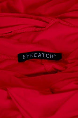 EyeCatch - Nicole Licou Cou Robe Rouge - Rouge