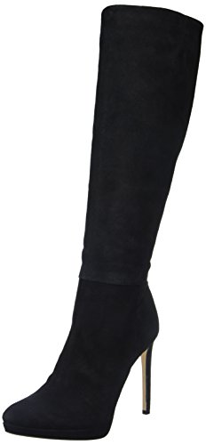 Calvin Klein Sanya, Bottes Classiques Femme Noir (Blk)