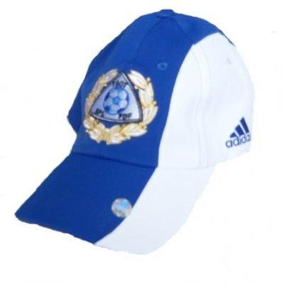 ADIDAS FAF FINNLAND JERSEY CAP SCHIRMMÜTZE KAPPE BASECAP blau weiss OSFA (Adidas Jersey Cap)