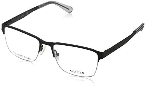 Guess Unisex-Erwachsene GU1935 002 52 Brillengestelle, Schwarz (Nero Opaco), (Herren Guess Brillengestelle)